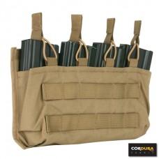 M4 pouch voor 4 magazijnen Cordura LQ16171